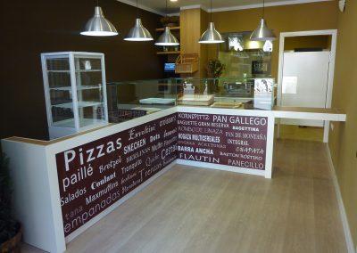 proyecto de muebles de panadaria en Tenerife